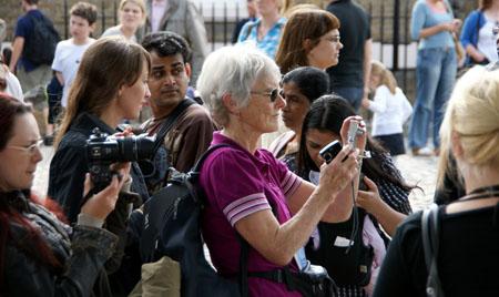 Greenwich, beim Royal Observatory, Juni 2009
