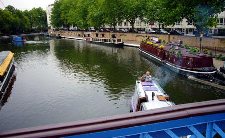 Little Venice, London, Juni 2009