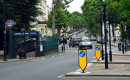 Warwick Avenue, London, Juni 2009