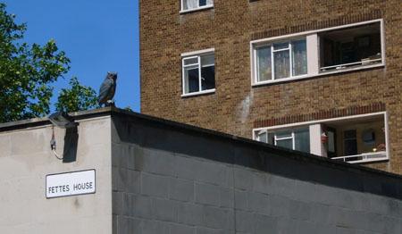 Fettes House, London, Juni 2009