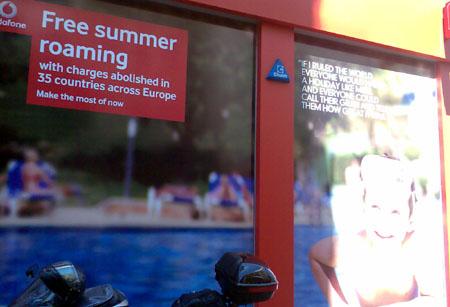 Vodafone UK streicht diesen Sommer das Roaming - in der Schweiz undenkbar