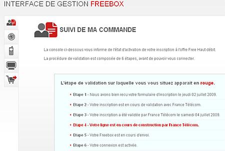 Bestellstatus FREE