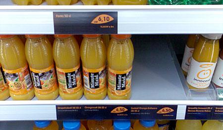 Überteuerte Getränke im EuroAirport: Schamlose, nie in diesem Ausmass gesehene Abzockerei