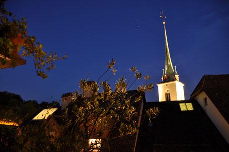 Nydeggkirche, Sommer 2009