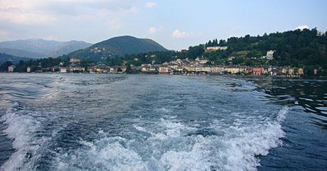 Lago d'Orta, Juli 2009