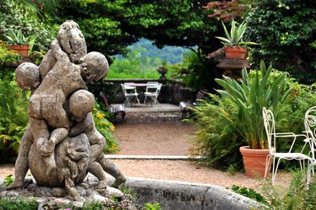 Villa Pastori, Ameno, Juli 2009
