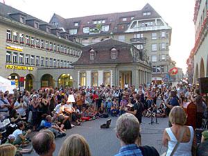 Buskers Bern, 6. August 2009
