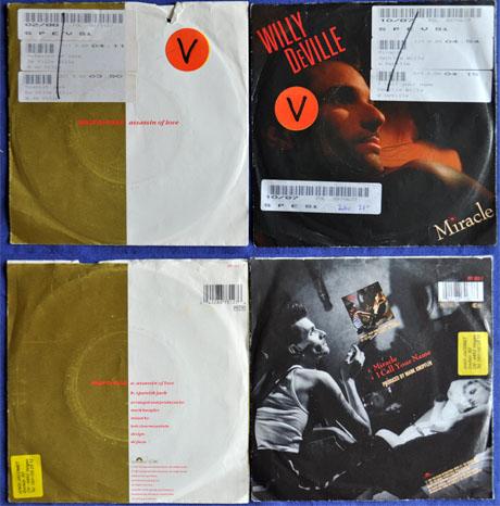 Zwei Singles von WillyDeVille aus den 1980ern - Klicken für grosse Fassung
