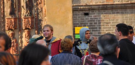 Menschen aus früheren Zeiten in Chivasso, 13. September 2009