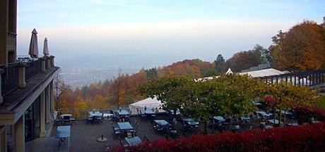 Goldener Herbst am Gurten, Ende Oktober 2009