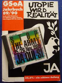 GSoA-Erinnerungen: Jahrbuch 1989/90 und Stop-The-Army-Sampler