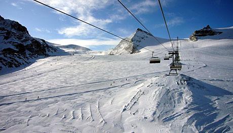 Theodulgletscher, 23. November 2009: Start in die Skisaison 2009/10 - Klicken für mehr Fotos