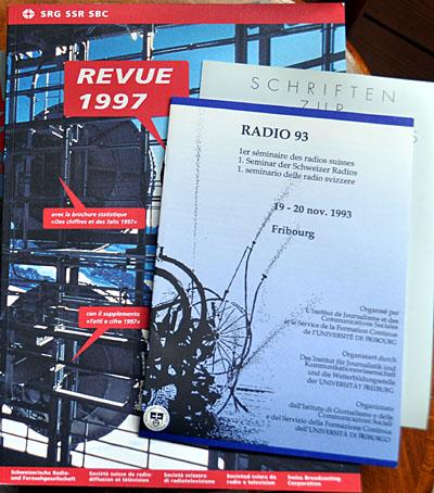 SRG-Jahresbericht 1997, Radioseminar 1993