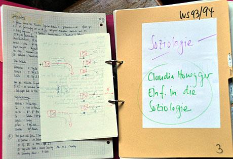 Soziologie- und andere Vorlesungen, die mich an sich nicht sonderlich interessierten