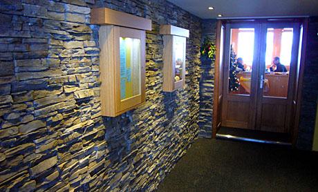 Restaurant Eigergletscher, neuer Eingangsbereich