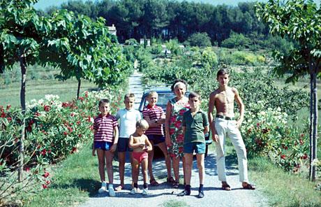 Pégomas, Sommer 1963
