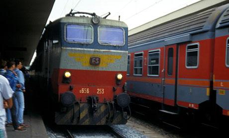 Italienische Lokomotive, Sommer 1990
