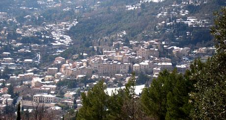 Seillans (Var), Februar 2010
