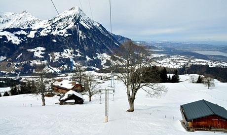Skilift Faltschen, 25. Februar 2010