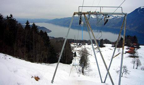 Skilift Aeschiallmend, 25. Februar 2010