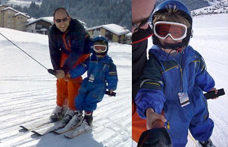 Nebendran Skiliftfahren hat Vor- und Nachteile