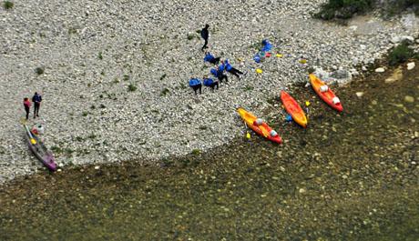Gorges de l'Ardèche, 15. Mai 2010
