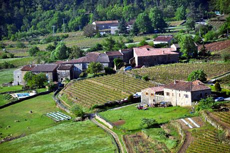 La Châtaigneraie, Sanilhac (Ardèche), 15. Mai 2010
