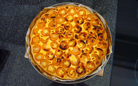 Aprikosenkuchen aus Berner Früchten