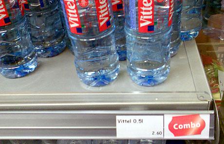 Seltsame Wasserpreise bei der Migros
