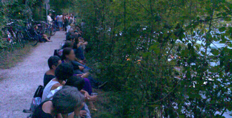 Heure Bleue mit viel Publikum, 27. August 2010