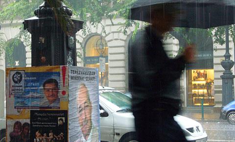 Budapest im Regen, 11. September 2010