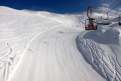 Skisaisonstart in Zermatt/Cervinia, 23.11.2010