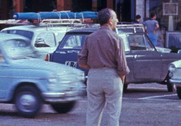 Riccione, Sommer 1962