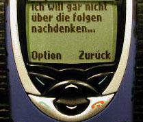 Ein SMS vom 11.9.2001