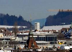 Beretenchopf bei Langenbruck von Bern aus gesehen (Dezember 2010)