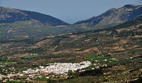 El Burgo, Andalusien, Apirl 2011