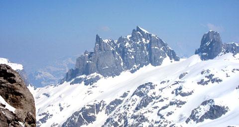 Gross Spannort vom Titlisgletscher aus gesehen (21. April 2011)