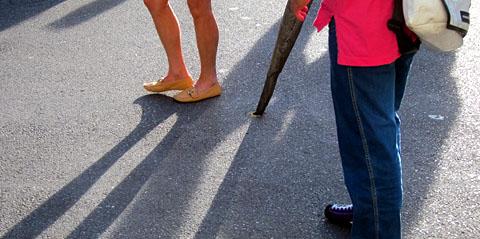 «Maman» von Louise Bourgeois auf dem Berner Bundesplatz, 24. Mai 2011