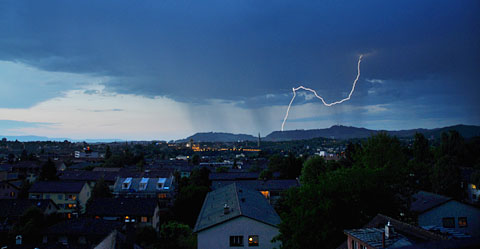 Blitz über Bern, 30. Mai 2011
