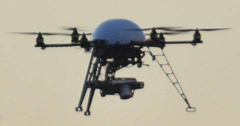Mondlandefähre oder Modellflugdrohne? (Bern, 24.6.2011)