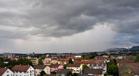 Scheisswetter: Der nasse Juli 2011