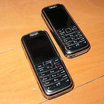 Qualität, Jahrgang 2006: Meine beiden Nokia 6233, Haupt- und Ersatzgerät, aus Liebe zum 6233 extra im Netz ersteigert