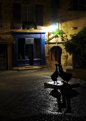 Sarlat in der Nacht, September 2011