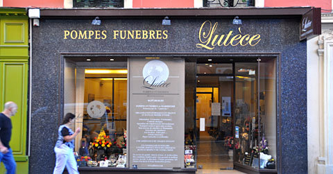 Pompes funèbres - woher kommt diese Bezeichnung?