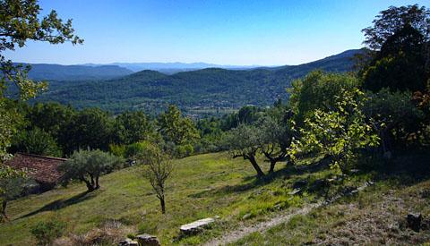 Einer der schönsten Flecken dieses Planeten - zwischen Esterel, Massif des Maures und der Haute Provence