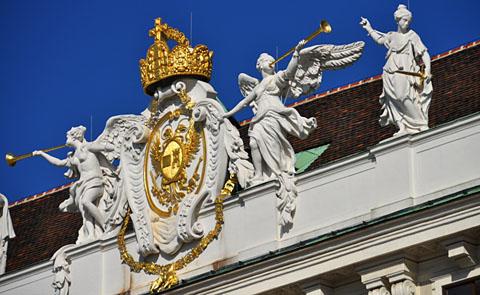 Hofburg, Wien, Oktober 2011