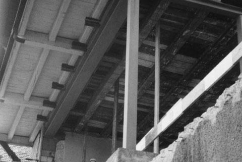 Letzte grössere Sanierung unseres Hauses, 1972