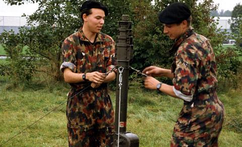 Rekrutenschule in Frauenfeld, Besuchstag im August 1992