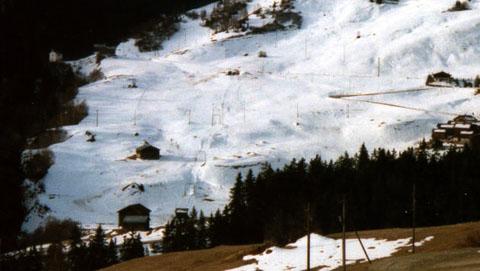 Skilift Surrein, Winter 1998