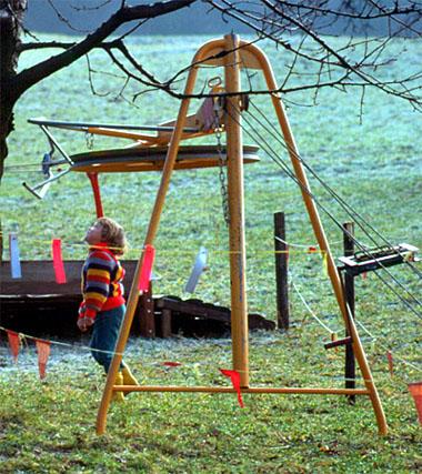 Faszinierend, so ein Skilift (Sissacher Flug 1976)
